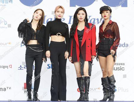 Soribada Best KMusic Awards Seoul Stock Photos (Exclusive