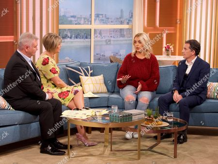 Stock Image of Eamonn Holmes, Ruth Langsford, Jane Park and Consultant Surgeon Gerard Lambe