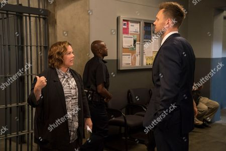 Melissa McCarthy as Detective Connie Edwards, Joel McHale as Agent Campbell