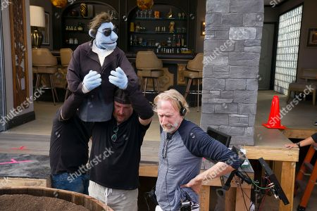 Stock Photo of Bill Barretta Puppeteer, Brian Henson Director