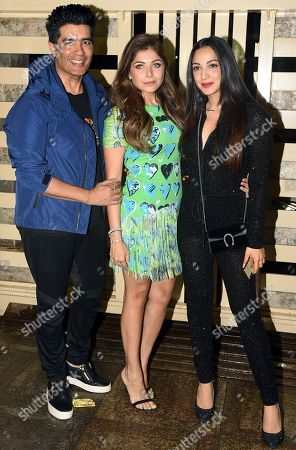Kanika Kapoor, Manish Malhotra, Kiara Advani