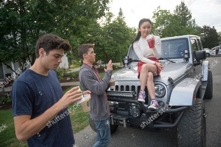 Noah Centineo as Peter, Israel Broussard as Josh, Lana Condor as Lara Jean