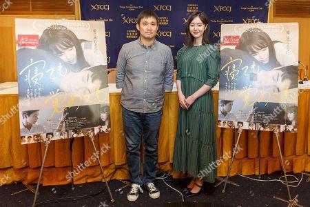 Director Ryusuke Hamaguchi and Erika Karata
