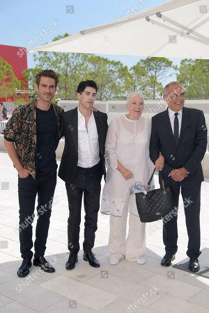 Vanessa Redgrave, Alberto Barbera, Julien Landais, Jon Kortajarena