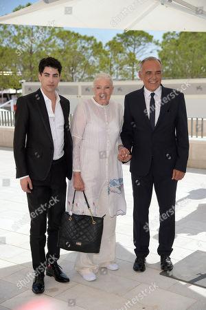 Vanessa Redgrave, Alberto Barbera, Julien Landais