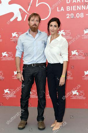 Stock Image of Francesca Mannocchi and Alessio Romenzi