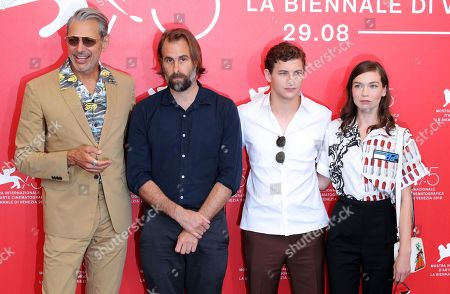 Jeff Goldblum, Rick Alverson, Tye Sheridan and Hannah Gross