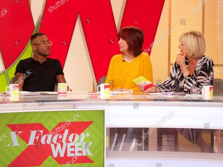 Stock Picture of Marcus Collins Janet Street-Porter and Jane Moore