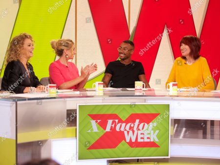 Nadia Sawalha, Stacey Solomon, Marcus Collins Janet Street-Porter and Jane Moore