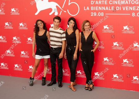 Editorial photo of 'L'Enkas' photocall, 75th Venice International Film Festival, Italy - 30 Aug 2018