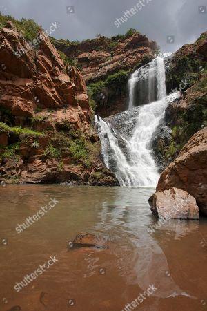Witpoortjie Waterfall, Walter Sisulu National Botanical Garden, Johannesburg, Gauteng, South Africa