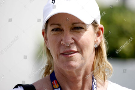 Stock Picture of Chris Evert Norman