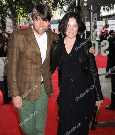 Alex James and wife Claire