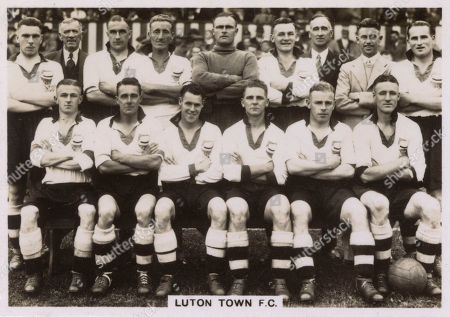 Editorial picture of Luton Town Fc Football Team 1936