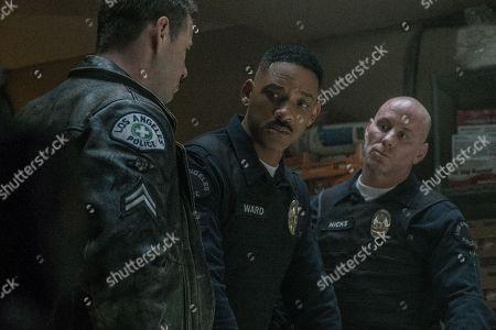 Ike Barinholtz as Pollard, Will Smith as Daryl Ward, Matt Gerald as Hicks