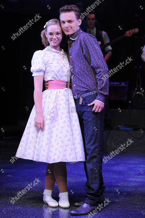Daisy Wood-Davies as Laura and Scott Bruton as Bobby