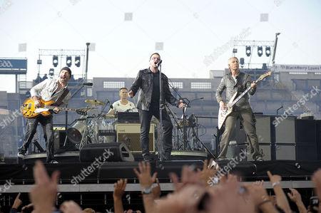 U2 - The Edge, Larry Mullen Jnr, Bono and Adam Clayton
