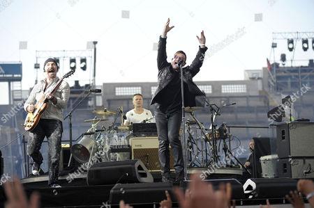 U2 - The Edge, Larry Mullen Jnr, Bono