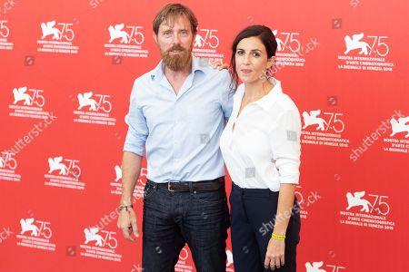 Stock Picture of Alessio Romenzi and Francesca Mannocchi