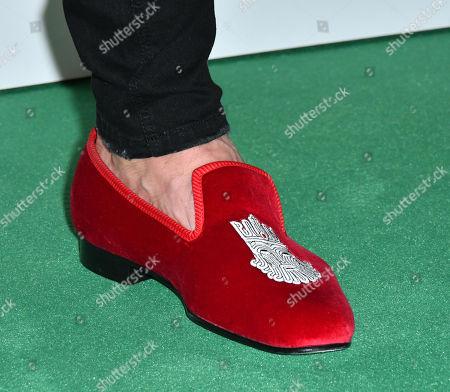 Martyn Ford, shoe detail