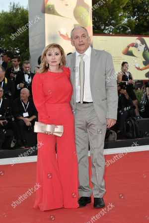 Silvia Damiani and Tomas Arana