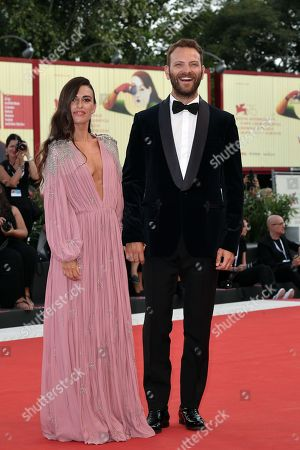 Stock Picture of Alessandro Borghi and Roberta Pitrone
