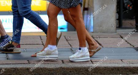 Francesca Cipriani, shoe detail