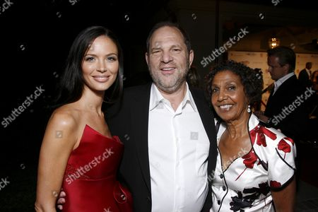 Georgina Chapman, Harvey Weinstein and Dolores Robinson