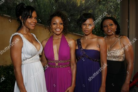 En Vogue's Cindy Herron-Braggs, Terry Ellis, Dawn Robinson and Maxine Jones
