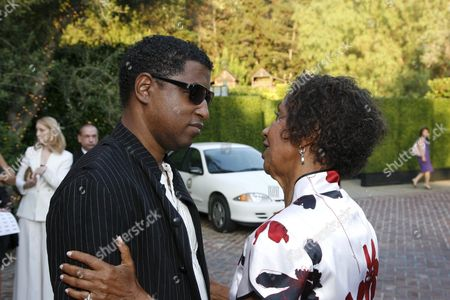 Kenneth 'Babyface' Edmonds and Dolores Robinson