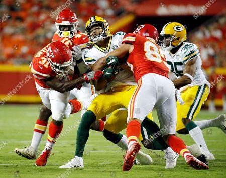 Editorial image of Packers Chiefs Football, Kansas City, USA - 30 Aug 2018