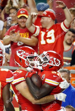 Editorial photo of Packers Chiefs Football, Kansas City, USA - 30 Aug 2018