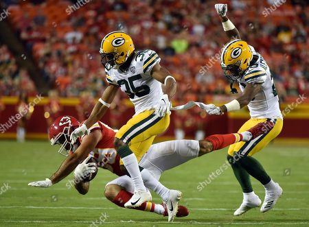 Editorial picture of Packers Chiefs Football, Kansas City, USA - 30 Aug 2018
