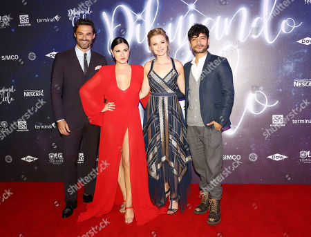 Ivan Sanchez, Maite Perroni, Ana Layevska and Christian Vazquez