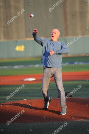 Stock Photo of Creed Bratton bobblehead night