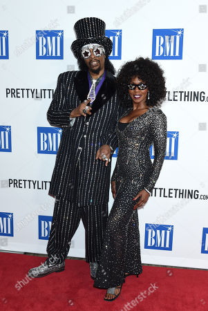 Stock Photo of Bootsy Collins and Patti Collins