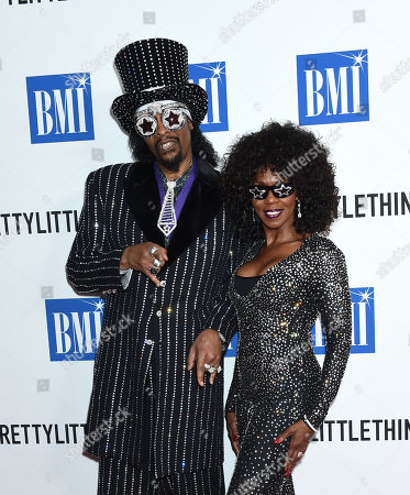 Stock Image of Bootsy Collins and Patti Collins