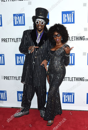 Bootsy Collins and Patti Collins