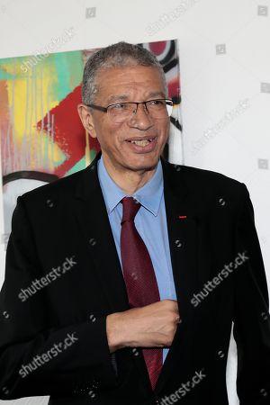 Stock Picture of Lionel Zinsou Pdt of Southbridge, ancien premier Ministre of Benin