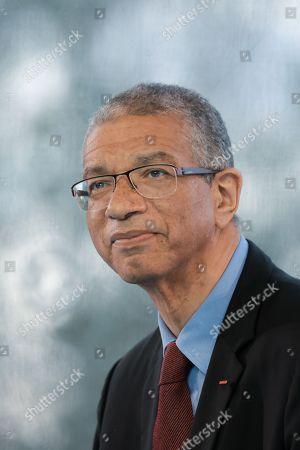 Stock Image of Lionel Zinsou Pdt of Southbridge, ancien premier Ministre of Benin