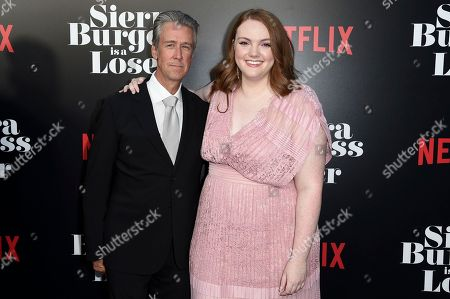 """Alan Ruck and Shannon Purser. Alan Ruck, left, and Shannon Purser attend the LA Premiere of """"Sierra Burgess is a Loser"""" at ArcLight Hollywood, in Los Angeles"""