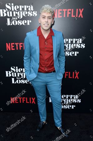 "Brett McLaughlin attends the LA Premiere of ""Sierra Burgess is a Loser"" at ArcLight Hollywood, in Los Angeles"
