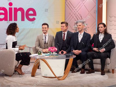 Rochelle Humes and Collabro - Michael Auger, Matt Pagan, Jamie Lambert, Thomas Redgrave