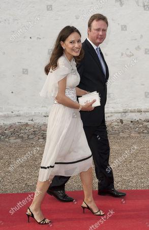 Prince Gustav of Sayn-Wittgenstein-Berleburg and Carina Axelsson