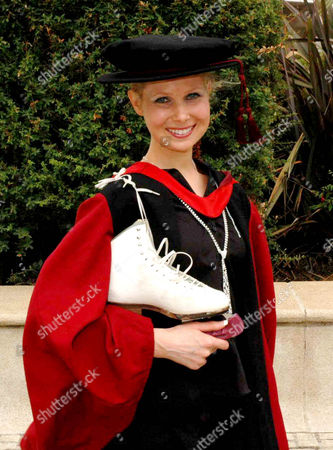 Editorial image of British woman earns PhD in ice skating - 26 Jul 2009