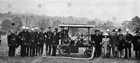 An Example of an Early Daimler Petroleum Fire Engine For the Country House of the Hon. Evelyn Ellis. the Illustrated London News. October 26th 1895. P.525 Top.