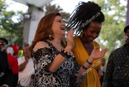 Editorial photo of A People's Tribute to the Queen - fans pay tribute to Aretha Franklin in Detroit, USA - 30 Aug 2018