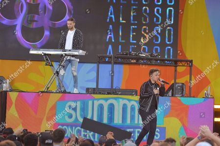 Conor Maynard and Alesso