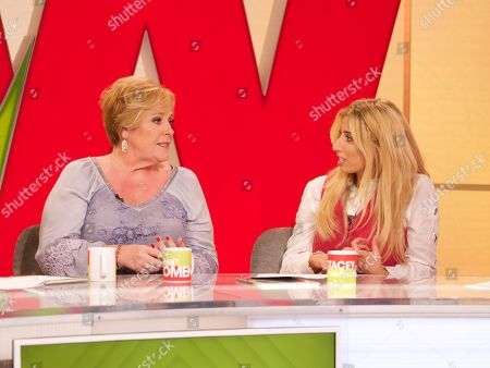 Stock Photo of Mary Byrne, Stacey Solomon
