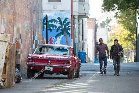 RJ Brown as Caleb, Christian Navarro as Tony Padilla